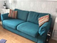Two, three seater sofas with extras
