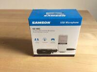 Brand new SAMSON Go Mic Clip On USB Microphone