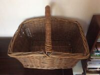 Old bread basket as used by bread delivery man