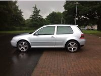 VW GOLF 2.8 V6 4MOTION 3 DOOR(1 LADY OWNER, ONLY 59000 MILES, FVWSH, IMMACULATE INSIDE AND OUT
