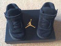 Nike Jordan Black - Infant Size 6.5