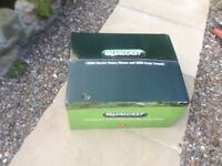 Qualcast Electric mower and grass trimmer ,new and still in the box.