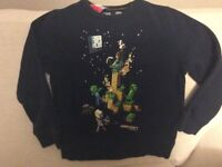 Boy's Minecraft Long Sleeves zTop Size 6