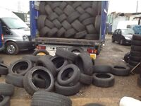185/60/15-185/65/15-195/65/15-205/16-part worn used winter/ summer tyres/unit 90 fleet road ig117bg