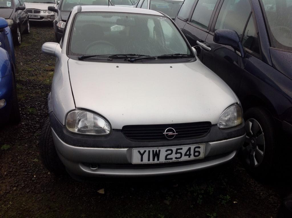 2001 VAUXHALL OPEL CORSA 1.0 PETROL BREAKING FOR PARTS ONLY POSTAGE AVAILABLE NATIONWIDE