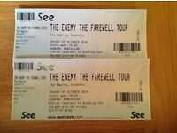 The enemy farewell tour . Sold out Coventry show