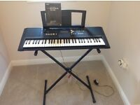 Yamaha PSR E333 Digital keyboard brand new with stand. Only used once!