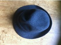 Kangol Wool Gaffer Trilby Hat - Blue - Size Large in excellent condition.