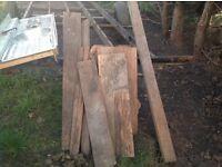 Various timbers