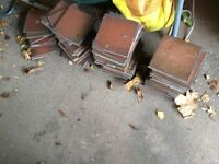 50 used terracotta floor tiles