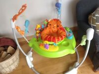 Baby Jumparoo in perfect condition baby out of it so we are selling it first come first serve