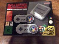 Brand new mini Super Nintendo SNES