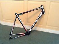 Bianchi carbon road bike frame