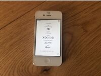 iPhone 4s White unlocked Very good condition