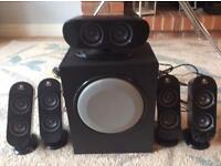 Surround Sound Speakers Logitech X-530 £35 ono
