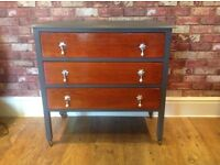 BEAUTIFUL VINTAGE SIDEBOARD - UPCYCLED - ORIGINAL FEATURES - CAN DELIVER LOCALLY