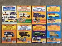 *CORGI* Days Gone By Classic Trucks and Vans Magazines 1 to 9