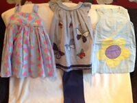 Girls dresses aged 2-3 years next, mini boden and m&s