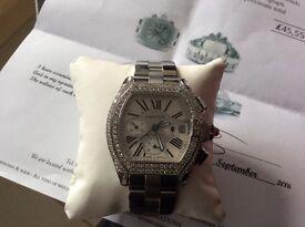 Diamond Cartier men's roadster watch amazing piece