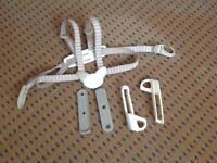 Trip trap high chair harness