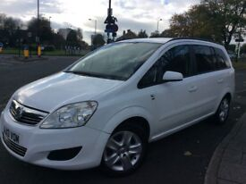 Vauxhall Zafira 2013 low miles