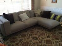 Ikea Nockeby corner sofa.....exc cond, less than a year old! Comfortable & big!