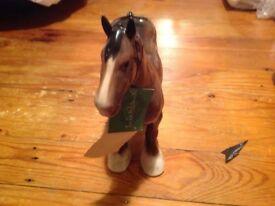 Beswick shire horse vintage