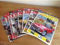 9 Triumph World Magazines - various months.