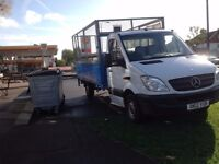 MERCEDES SPRINTER 313 CDI DROP SIDE TRUCK CAGED