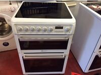 60 cm hotpoint electric cooker three month guarantee