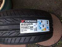 Yokohama car tyre 205 40 17