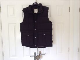 Black Padded Gillet. By GAP Brand new unwanted gift