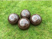 Drakes Pride Professional Bowls size 3H Brown