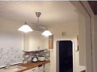 Modern designer kitchen light