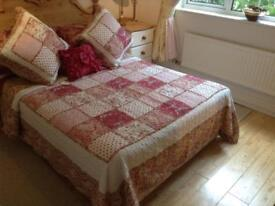 French Quilted Throw