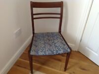 Free Mahogany Dining Chairs