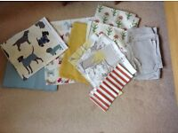 Fabric Remnants fromLaura Ashley,Clarke & Clarke, Mans best friend
