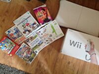 Nintendo Wii (Boxed) with Games & Accessories