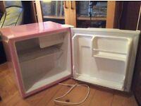 Fridge 48 litre pink table top