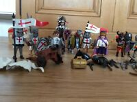 Playmobil Knights and Horses bundle
