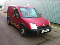 Ford Transit Connect 1.8 tdi 12 months mot 03 plate ready for work