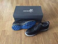 Ashworth Leather Brogue Style Golf Shoes