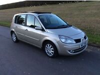 2007 RENAULT SCENIC 1.5 D.C.i (diesel ) VERY ECONOMICAL*56 M.P.G *M.O.T TO JUNE 17* DRIVES AS NEW *