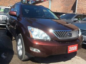 2008 Lexus RX 350 w/Navigation Pkg. Bluetooth Heated Leather Sun