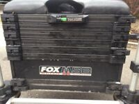 FOX MSB MATCH SYSTEM FISHING BOX