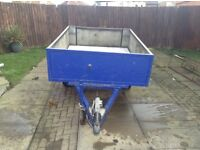 Builders trailer will carry 2ton no bother