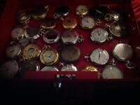 48 pocket watches collection
