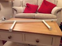 Ikea white komplement pull out rail