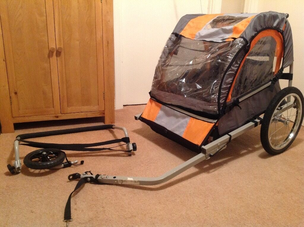 Halfords double buggy child bike trailer with stroller accessory kit halfords double buggy child bike trailer with stroller accessory kit publicscrutiny Image collections