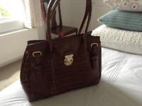 Brown handbag for sale